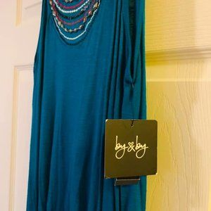 Tank embellished with Charm L
